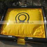 hot sale inflatable big air bag, inflatable free drop air bag,inflatable air bag for BMX