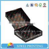 Custom printed corrugated carton box for shipping, box corrugated ,with logo silver hot stamping                                                                         Quality Choice