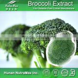 2014 China Manufacture Natural Broccoli Flower Extract Powder 10:1 Sulforaphane 1% CAS No: 4478-93-7