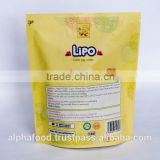 Baked Wafer Cookies Biscuit Snack LIPO 129g Cream Egg Bread with HALAL, ISO, HACCP Certification