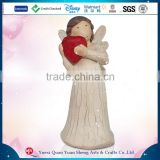 2015 Home Decoration Used Fashion Woman Resin Angel Statue
