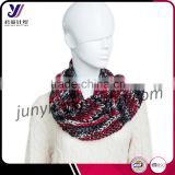 Custom-made printed wool felt scarf knit fashionable scarf with butt infinity loop scarf factory wholesale sales (accept custom)