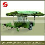 Heated military purified drinking water trailer, high quality movable distilled water trailer