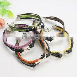 Fashion Tibetan Style Bracelets, Mother's Day Jewelry(BJEW-JB00666)
