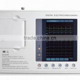 CE and Rohs Approved Portable 12 Lead holter monitor ecg, Sale price of ecg machine telemetry with bluetooth