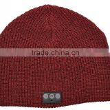 Cashmere wireless winter hat with led,accept paypal
