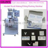 Colunte Automatic Alcohol Pre Swabs Making Machine
