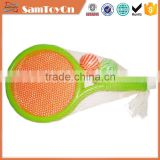 Plastic kids tennis racquet toy