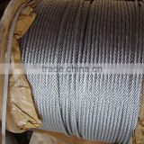 7x19 galvanized and ungalvanized, pvc coated, stainless steel wire rope all kinds wire rope