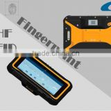 2016 7 inch 3G Rugged UHF RFID Fingerprint Sensor Tablet