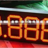 Outdoor Large 4 digits Gasoline/Gas Station Price Led Signs