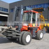 5Ton Diesel forklift with 3-stage mast