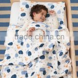 Hot Sell Baby Bedding Set, 100% organic cotton muslin baby bedding set
