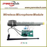 Panvotech uhf wireless microphone audio module