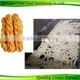 China Wholesale Stainless Steel Fried Dough Twist Making Machine /extruder machine/6 strands at the time