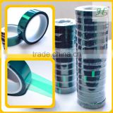 ISO9001 Certified 0.06/0.08mm 200 C Masking Protection Heat Resistant Silicone Adhesive tape for powder coating