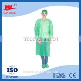Top quality factory price Disposable nonwoven surgical gown for medical/hospital sterile surgical gown