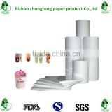 double side poly coated paper for making cups