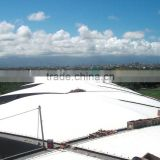 PTFE coated tensile fabric architecture with full professional experience in Railway Station Canopy in Taiwan