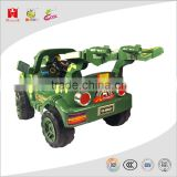 6V 4.5AH battery electric tractor kids toys power driven army truck ride on push car with remote control