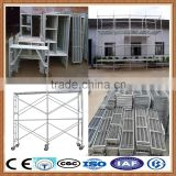 ladder scaffolding system, mobile scaffolding platform, self climbing scaffolding system