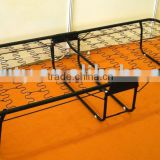Folding Bed with wire spring base