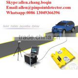 Pinpoint Factory Parking Lot Under Vehicle Safety Inspection System with CCTV Camera and LED Scanner