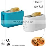 CE GS CB approval slicing electric plastic stainless steel toaster oven timer switch and egg maker