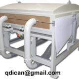Vacuum pillow filling machine