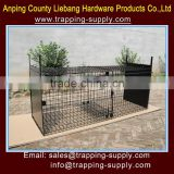 China Dog Cage Trap For Live Animal Trapping for Wild Dog German Shepherd Direct Factory