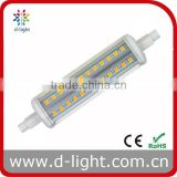 led r7s replacing linear tungsten halogen lamp J118 R7S without cover 85-265V 10w R7S smd led