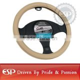 #19545 38cm diameter Genuine Leather Cool Steering wheel cover