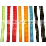 Reflective Webbing Strap, Custom Reflective Nylon Webbing for Pet Leash, Outdoor furniture nylon webbing with reflective strip