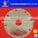 "Accurately processing 180mm 7"" electroplated segmented diamond cutter glass cutting for marble"