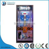 Crazy Doll Plush Toy Claw Crane Machine/Crazy crane claw redemption game machine for sale