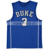 Custom Latest Blue Design Cheap Wholesale Basketball Jersey Uniform SportsWear Dry Fit Performance Basketball Clothes