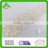 Nylon Spandex Lace Trims for Girl's Sexy Underwear Elastic Wholesale Lace For Girl's Bra