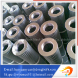 pleated metal tube stainless steel air filter element