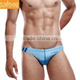 Men Boy Low-waist Underpants Bikinis Briefs Swimming Swimwear Elastic