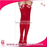 Girls Hot Red Christmas Stocking