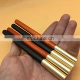Solid wood brass gel pen Santos rose wood/black sandalwood pen Exclusive vintage collection pen