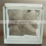 clear transparent decorative glass block for indoor wall partition
