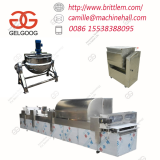 Popular Snack Egg Sachima with Brown Sugar Production Line Processing Equipment for Sale