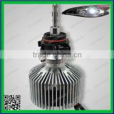 2015 brighter light no dark spot H16 25w 4000lm 6000k white light bulbs led headlight kit