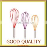 silicone egg whisk 100% food grade silicone products