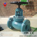 Blue Anti-Rust Painted ANSI 125 / 150 Cast Iron Globe Valve