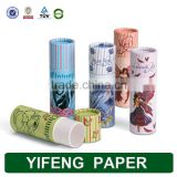 Alibaba Wholesale Colorful Small Paper Tube For Lip Balm