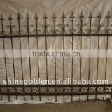 Wrought iron fence from top manufacturer for garden                                                                         Quality Choice                                                     Most Popular