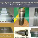 sputtering target of tungsten and molybdenum and molybdenum alloy                                                                         Quality Choice