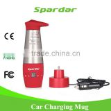 348 ML Mini RED Color Auto Keep Warming and Boiling Electric Kettle for Tea/Coffee/Water